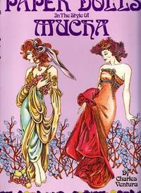 Paper Dolls in the Style of Mucha