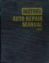 Motor's Auto Repair Manual 1967
