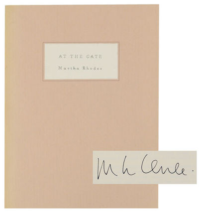 Provincetown, MA: Provincetown Arts Press, 1995. First edition. Softcover. A collection of poems by ...