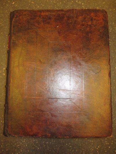 Trenton: Isaac Collins, 1791. Hardcover. Quarto, unpaginated; VG-; bound in contemporary diced brown...