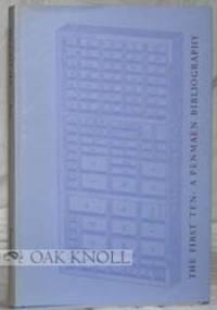Lincoln (MA): Penmaen Press, 1978. cloth, dust jacket. Penmaen Press. 8vo. cloth, dust jacket. ix, (...