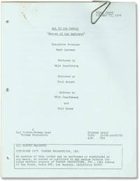 image of All in the Family: Return of the Waitress (Original screenplay for the 1978 television episode)