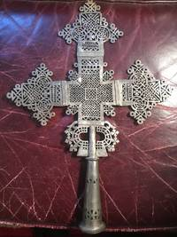 Large Original Old Ethiopian Processional Cross