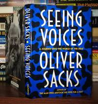 SEEING VOICES by  Oliver W Sacks - First Edition; First Printing - 1989 - from Rare Book Cellar and Biblio.com