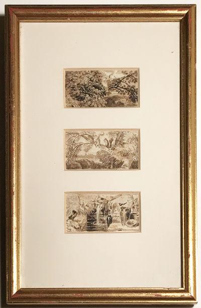 Original Ink Studies created by...