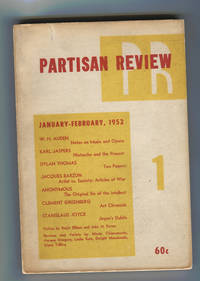 """Invisible Man: Prologue To A Novel"" in Partisan Review"