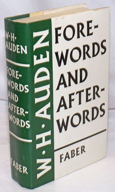 London: Faber and Faber, 1973. Hardcover. xi, 529p., gift inscription of previous owner, lightly-use...