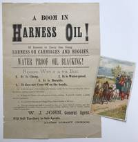 A Boom in Harness Oil! Of Interest to Every One Using Harness or Carriages and Buggies [caption title]