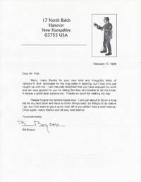 [1pp. TLS / Original Laser Print Typed Letter Signed]