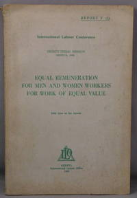 Equal Remuneration for Men and Women Workers for Work of Equal Value