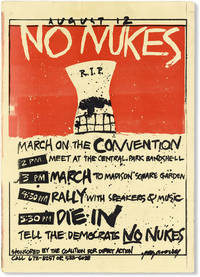 August 12: No Nukes. March on the Convention!