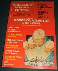 image of Thrilling Science Fiction for June 1974