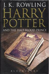 HARRY POTTER AND THE HALF-BLOOD PRINCE [Adult edition - Misprint copy]
