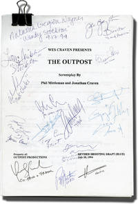 image of Mind Ripper [Wes Craven Presents: The Outpost] (Original screenplay for the 1995 film, round robin copy signed Lance Heriksen, director Joe Gayton, and many others)