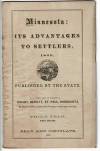 Minnesota: Its Advantages to Settlers..