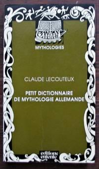 image of Petit dictionnaire de mythologie allemande