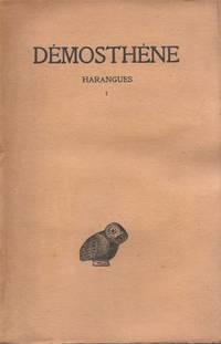 Harangues Tome I texte établi par Maurice Croiset