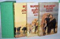 Bell Trilogy in Slipcase 3 volumes. Bell of Africa, Karamojo Sarari, [and] Wanderings of an Elephant Hunter