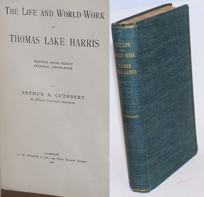 Glasgow: C.W. Pearce & Co, 1908. Hardcover. 413, , xix p., textblock untrimmed, first edition, minor...