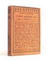 image of Relativity - The Special and the General Theory - A Popular Exposition - in the original 5 shillings dust wrapper