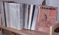 image of Orientations, 1970-2003, 116 issues, a discovery of arts and the pacific