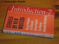 contributes his stories 'A Strange and Sometimes Sadness', 'Waiting for J' and 'Getting Poisoned' to the anthology Introduction 7. Stories by New Writers. (SIGNED)