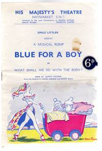 Blue for a Boy or What Shall We Do with the Body: Theatre Programme His Majesty's Theatre Haymarket