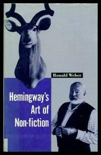 image of HEMINGWAY'S ART OF NON FICTION