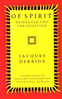 image of Of Spirit: Heidegger and the Question