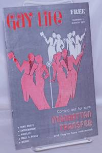 image of Gay Life [aka Pittsburgh's Gay Life] #2, March 1977; Manhattan Transfer Coming Out For Sure