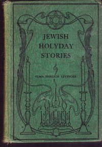 JEWISH HOLYDAY STORIES Modern Tales of the American Jewish youth
