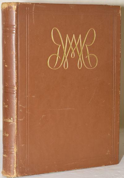 Williamsburg, Virginia: Printed at the Instance of the Seniors at Williamsburg Virginia, 1936. Hard ...