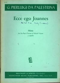 Missa Ecce Ego Joannes