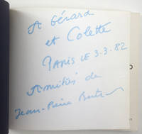 Jean-Pierre Bertrand, musée de Toulon, 16 avril - 17 mai 1981 [envoi à Gérard Gasiorowski et Colette Portal]