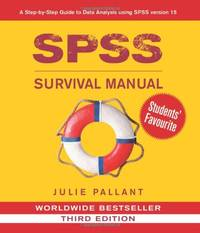 image of SPSS Survival Manual: A Step by Step Guide to Data Analysis Using SPSS for Windows (Version 15)