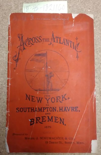 New York: Oelrichs & Co, 1879. Softcover. Booklet ; pp 40; Fair/paperback; red covers has severe wea...