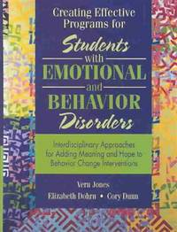 students with emotionalbehavior disorders essay In an essay of 1,000-1,250 words, comprehensively discuss causal factors, the implications, and possible mitigation regarding ebd students.