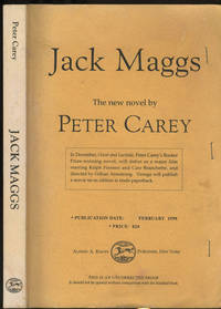 Jack Maggs.  Uncorrected Proof