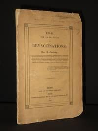 Essai sur la Doctrine des Revaccinations [SIGNED]