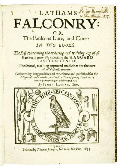 Lathams Falconry: or, the Faulcons...