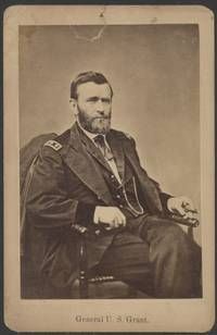 Collection Ulysses S. Grant ephemera including an early cabinet card, the only complete photo of the family ever taken, made 35 days before the General's death;  his funeral procession,  program to his Memorial Parade in New York