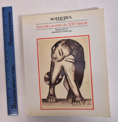 Monaco: Sotheby's, 1991. Softcover. VG-. Some wear, soiling, tanning to covers. Clean and tight cont...