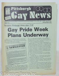 image of Pittsburgh Gay News: for the Pittsburgh area gay community; #9, Saturday, March 2, 1974: Gay Pride Week Plans Underway