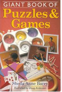 image of Giant Book of Puzzles & Games