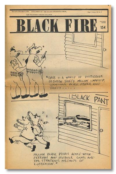Emeryville, CA.: Black Students Union, San Francisco State University, 1969. Volume III, number 15. ...