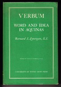 image of Verbum:  Word And Idea In Aquinas
