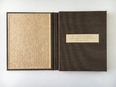 La Mesa, California:: Sin Nombre Press,, 2019.. Edition of 18. 5.75 x 4.75 x .5 inches (closed); 5.7...