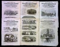 Frank Leslie's Illustrated Newspaper (6 1862 Issues)