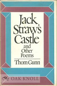 JACK STRAW'S CASTLE AND OTHER POEMS