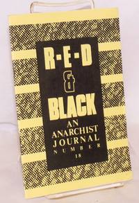 Red and black. No. 18 (Summer 1989) by  editor  Jack - 1989 - from Bolerium Books Inc., ABAA/ILAB (SKU: 221954)